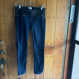 J. Crew Maternity Toothpick Jeans